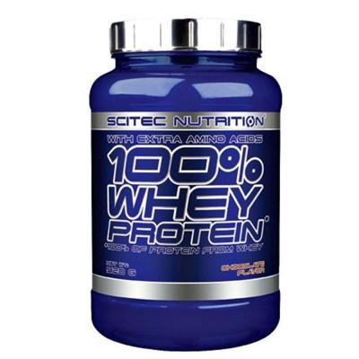 Протеин сывороточный SCITEC WHEY PROTEIN 100%, 920 г