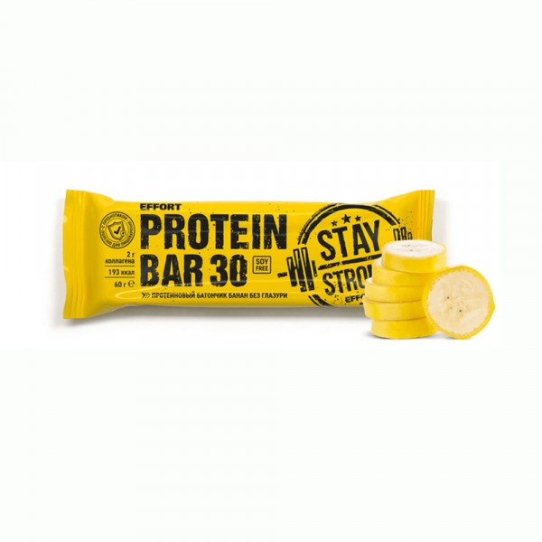 Батончик EFFORT PROTEIN BAR, 60 g