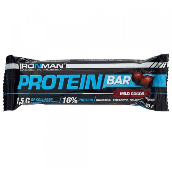 Батончик IRONMAN PROTEIN BAR, 50 г