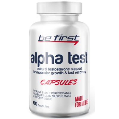 BE FIRST ALPHA TEST, 60 капсул