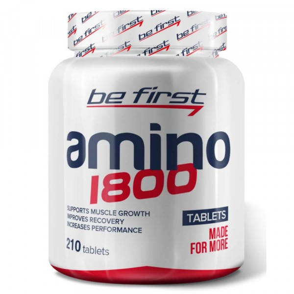 BE FIRST Amino 1800, 210 cap