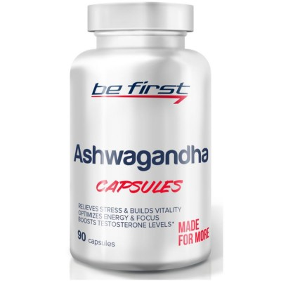 BE FIRST ASHWAGANDHA, 90 капсул
