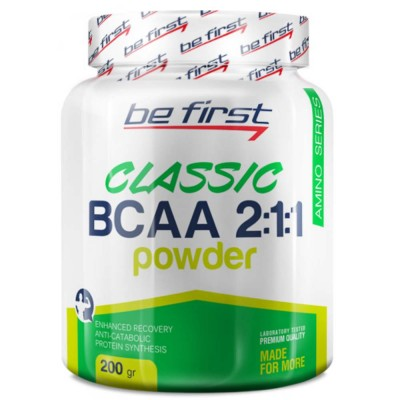 BE FIRST BCAA 2:1:1 CLASSIC POWDER, 200 г