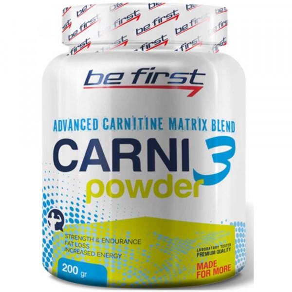 BE FIRST CARNI POWDER, 200 g