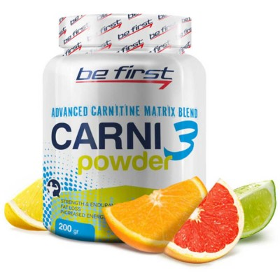 BE FIRST CARNI POWDER, 200 g