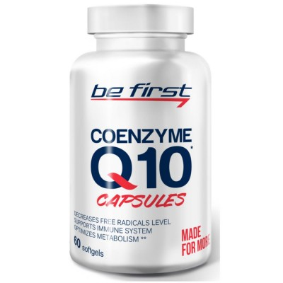 BE FIRST COENZYME Q10, 60 шт