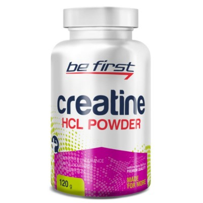 BE FIRST CREATINE HCL POWDER, 120 г