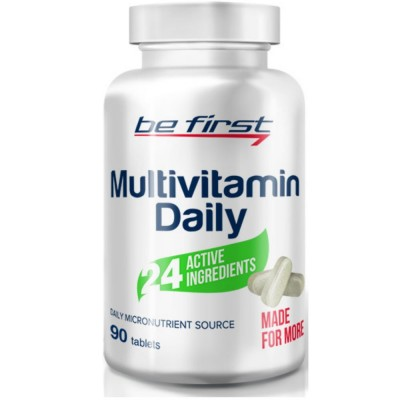 BE FIRST MULTIVITAMIN DAILY, 90 таблеток