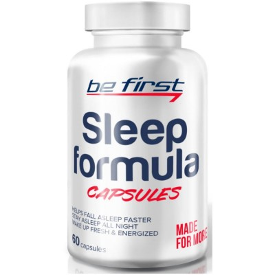 BE FIRST SLEEP FORMULA, 60 капсул