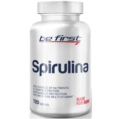 BE FIRST SPIRULINA, 120 таблеток