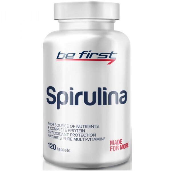 BE FIRST SPIRULINA, 120 таблеток
