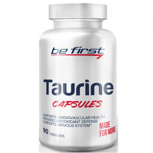 BE FIRST TAURINE, 90 капсул