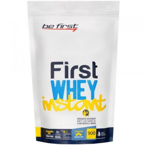 BE FIRST Whey instant, 900 g