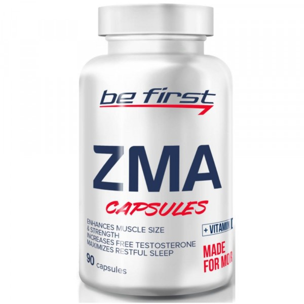 BE FIRST ZMA+VITAMIN D3, 90 капсул