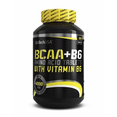 BIOTECH BCAA + B6, 200 таблеток