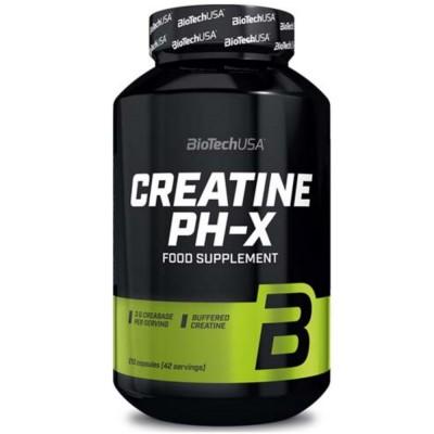BIOTECH CREATINE PH-X, 210 капсул