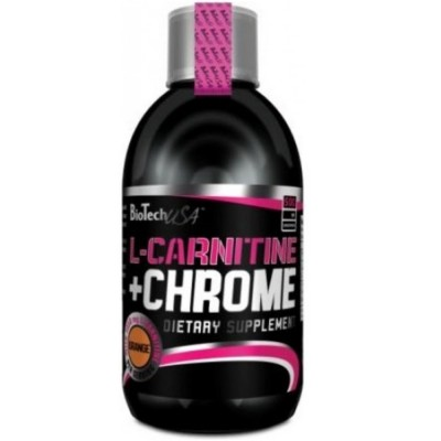 BIOTECH USA L-CARNITINE 35000 mg + chrome, 500 ml