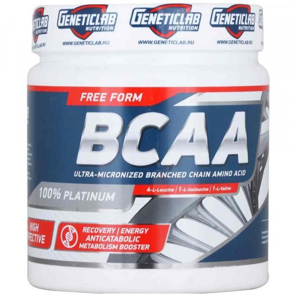 GENETIC LAB BCAA 2:1:1 200 г, 50 порций