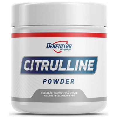 GENETIC LAB CITRULLINE POWDER, 300 г, 600 порций