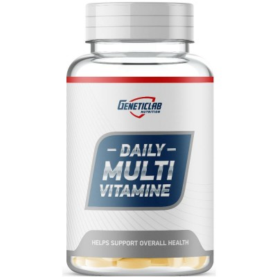 GENETIC LAB MULTIVITAMIN DAILY, 60 таблеток