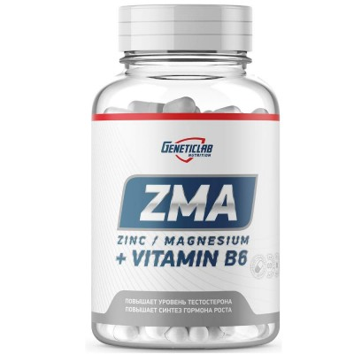 GENETIC LAB ZMA, 60 капсул