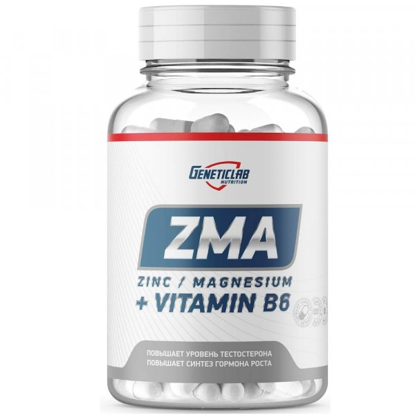GENETIC LAB ZMA, 60 капсул