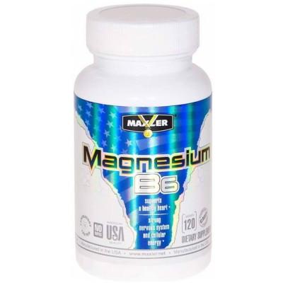 MAXLER MAGNESIUM B6, 120 таблеток