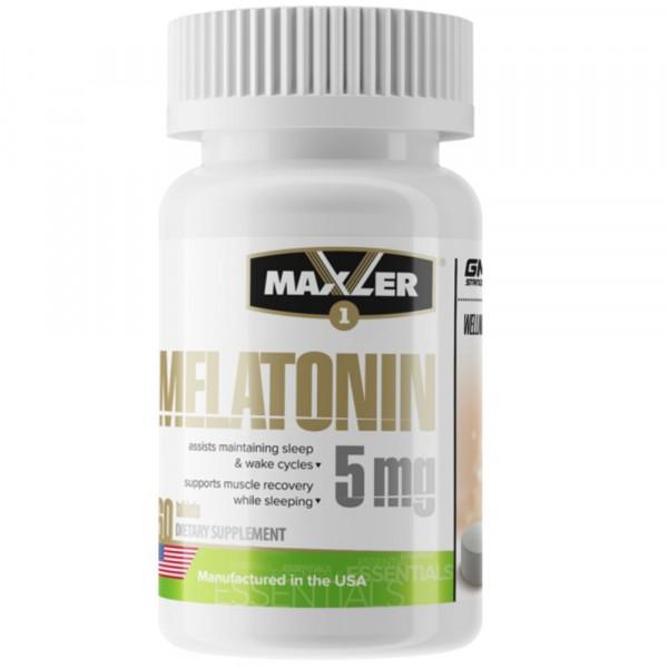 MAXLER MELATONIN 5 mg , 60 капсул