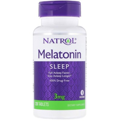 NATROL MELATONIN 3 mg, 120 таблеток