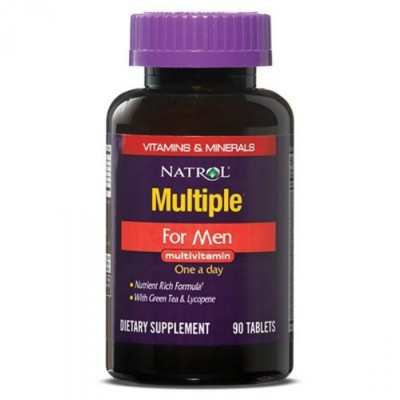 NATROL MULTIPLE FOR MEN MULTIVITAMIN, 90 таблеток