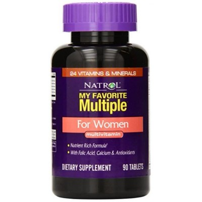 NATROL MULTIPLE FOR WOMEN MULTIVITAMIN, 90 таблеток