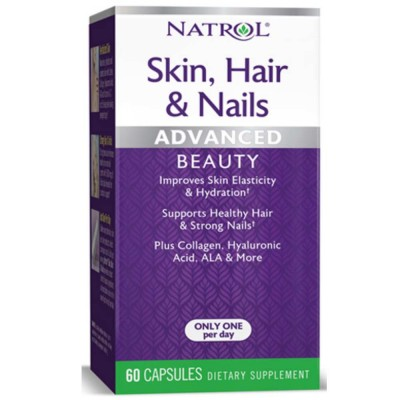 NATROL SKIN HAIR NAILS, 60 капсул