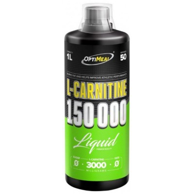 OPTIMEAL L-CARNITINE LIQUID 150000, 1л