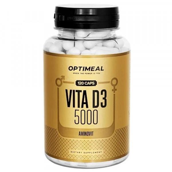 OPTIMEAL VITAMIN D3, 120 капсул