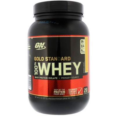 OPTIMUM NATURAL WHEY PROTEIN 100% GOLD, 912 г