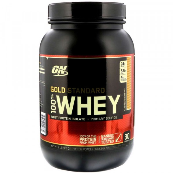 OPTIMUM NATURAL WHEY PROTEIN 100% GOLD, 912 g