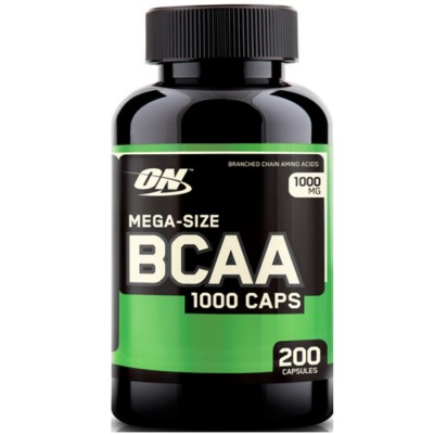 OPTIMUM NUTRITION BCAA 1000, 200 капсул
