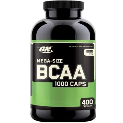 OPTIMUM NUTRITION BCAA 1000, 400 капсул