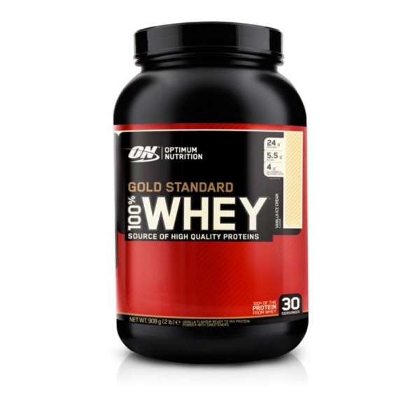 OPTIMUM WHEY PROTEIN NATURAL 100% GOLD, 912 g