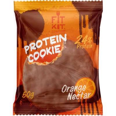 Печенье протеиновое FIT KIT CHOCO PROTEIN COOKIE, 50 г