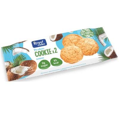 Печенье протеиновое с пониженной калорийностью ROYAL CAKE , 50 г