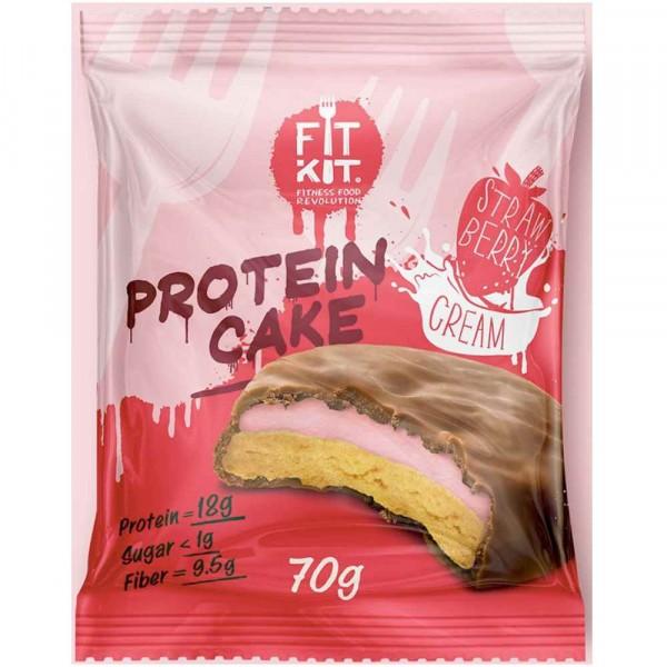 Протеиновое печенье FIT KIT PROTEIN CAKE, 70 г