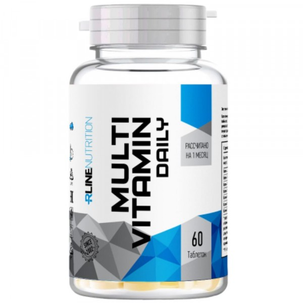 RLine Multivitamin Daily, 60 капсул