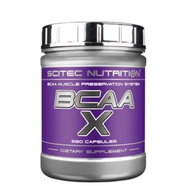 SCITEC BCAA-X, 330 cap