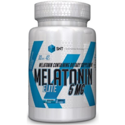 SNT MELATONIN ELITE 5 mg, 90 капсул