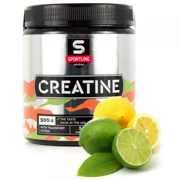 SPORTLINE CREATINE WITH TRANSPORT SYSTEM, 500 g