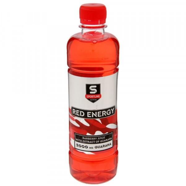 SPORTLINE RED ENERGY 2000 mg, 500 ml