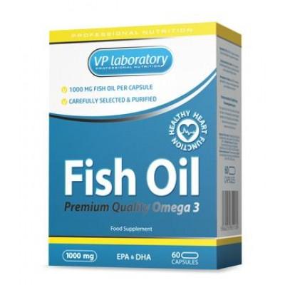 VPLAB FISH OIL 1000, 60 капсул