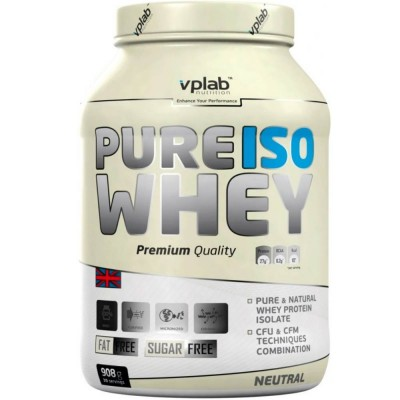 VPLab PURE ISO WHEY, 908 г